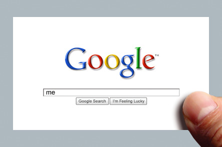 """Search for """"me"""" on Google"""