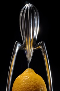 Lemon juicer by Philippe Starck.